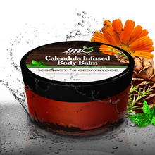 Load image into Gallery viewer, 8 oz Beauty Calendula Infused Body Balm - Rosemary & Cedarwood - ImoNatural