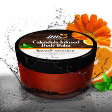 Load image into Gallery viewer, 8 oz Beauty Calendula Infused Body Balm - Sweet Orange - ImoNatural