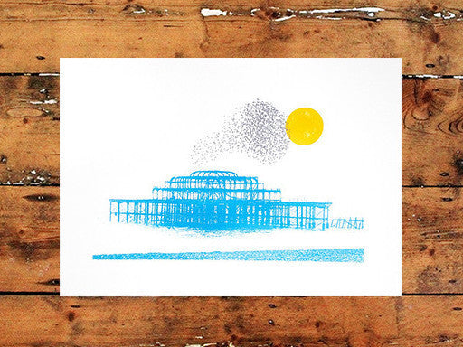 Shane O'Driscoll | West Pier Starlings Blue
