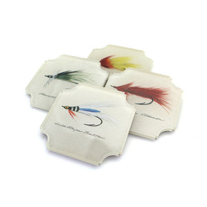 Coasters | Lures, set of four
