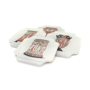 Coasters | Roman Urns, set of four