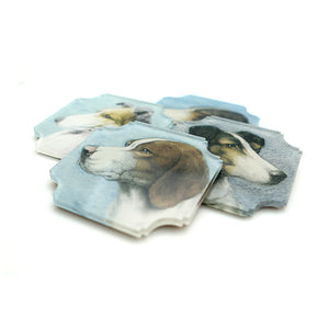Coasters | Dogs, set of four