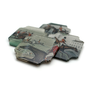Coasters | Tally Ho!, set of four