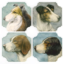 Load image into Gallery viewer, Coasters | Dogs, set of four