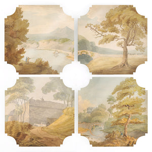 Coasters | Savery Collection, set of four