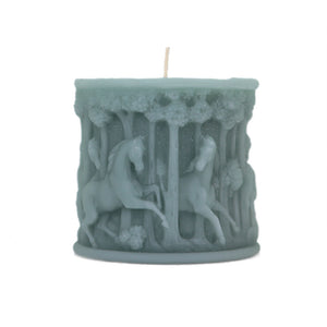 Jade Horses in Forest Hand Poured Candle
