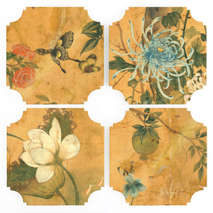 Coasters | Asian, set of four