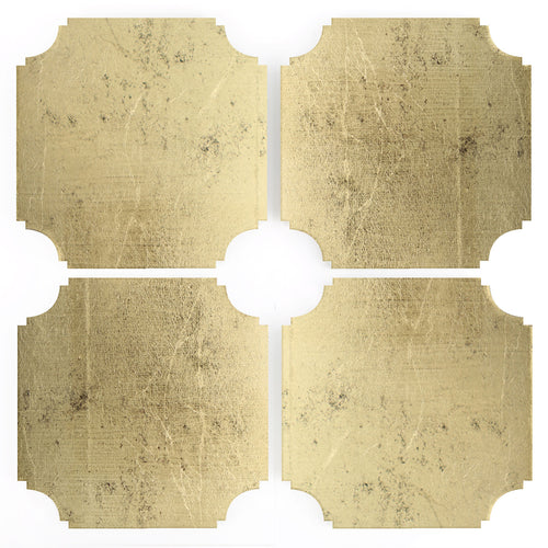 Coasters | Gilded, set of four