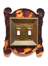 Load image into Gallery viewer, Acrylic + Brass | Rococo Style, Tortoise