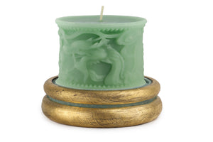 Green Dragon Hand Poured Candle