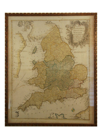 England, Wales, & Scotland Map | c.1750