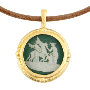 Fob Necklace, Pegasus