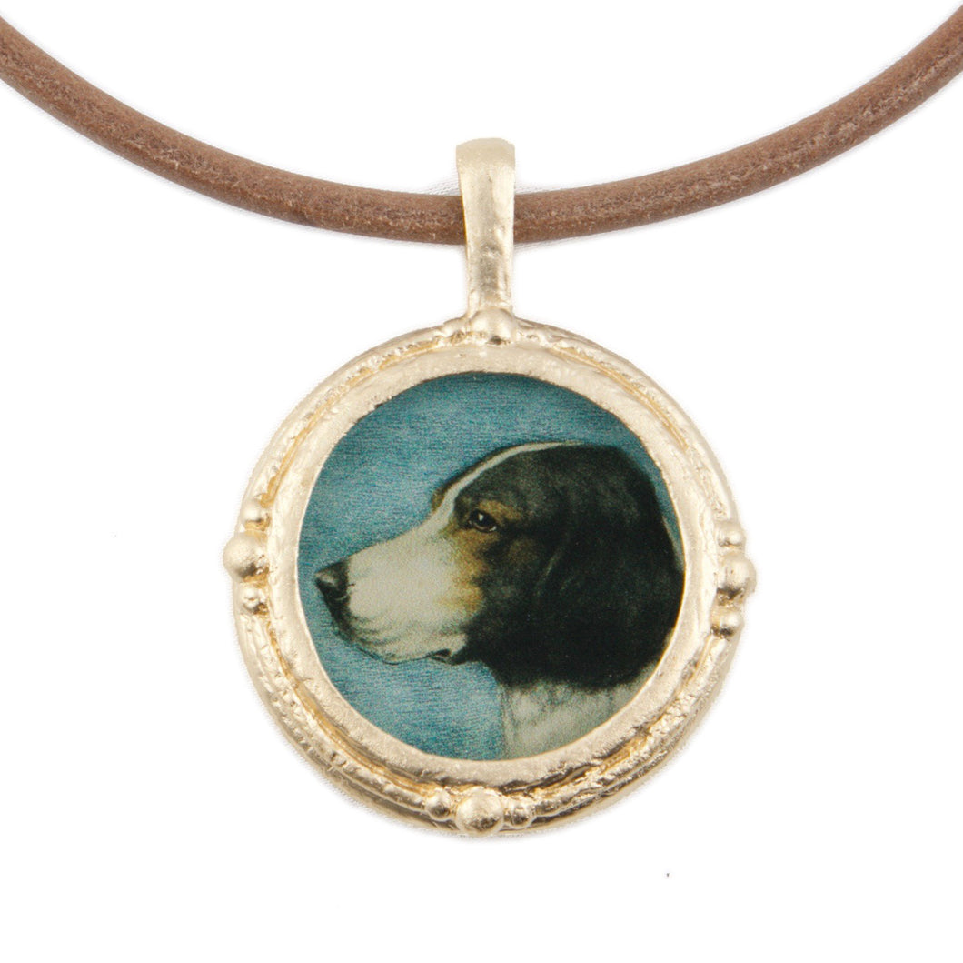Fob Necklace, Hound