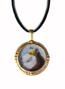 Fob Necklace, Collie