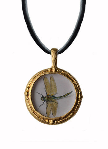 Fob Necklace, Dragonfly