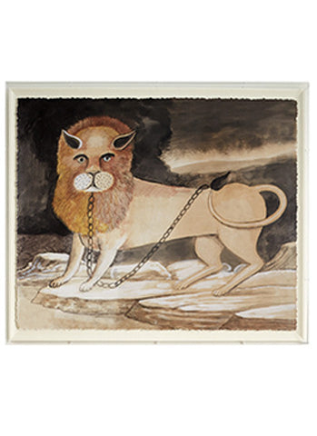 Lion Folk Art, Early 20th c.