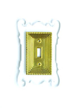 Load image into Gallery viewer, Acrylic + Brass | Rococo Style, Clear