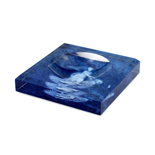 Acrylic Block Soap Dish | Venus in Blue