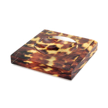 Load image into Gallery viewer, Acrylic Block Soap Dish | Tortoise