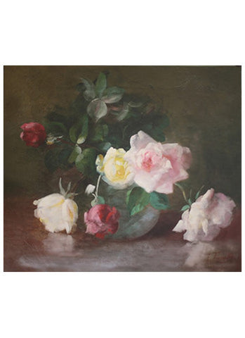 Still Life of Roses, 19th c.