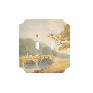 Printed Switch Plates | Bridge, Savery Collection