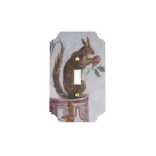 Squirrel Printed Switch Plates | Singh Collection