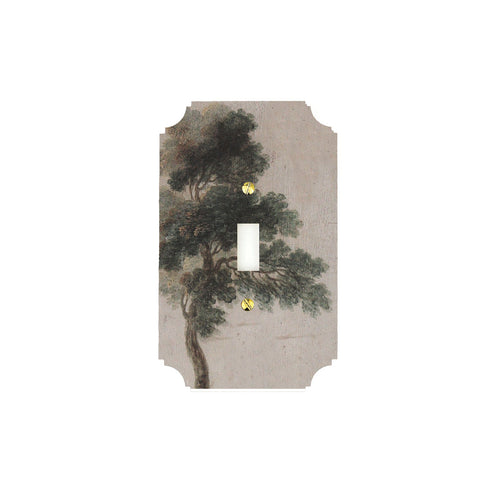 Printed Switch Plates | Pine Tree, Singh Collection