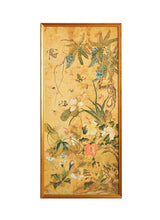 Load image into Gallery viewer, Chinese Ochre Watercolor Panels, 18th c.
