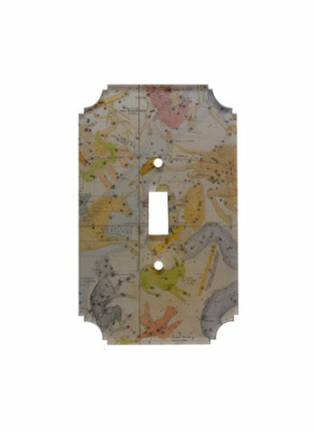 printed switch plates celestial collection