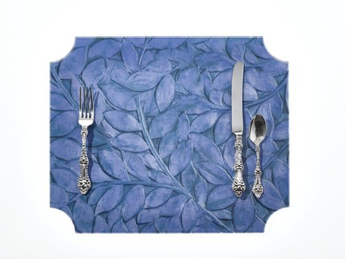 Placemat | Blue Leaf & Vine, set of 4