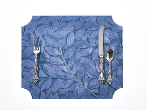 Placemat | Blue Leaf & Vine, set of 2