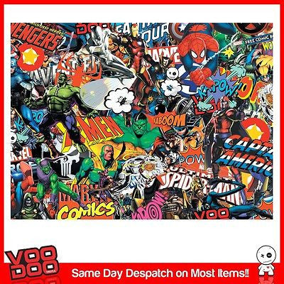 MARVEL COMIC STICKERBOMB X1 LAPTOP/NETBOOK SKIN/STICKER(VARIOUS SIZES AVAILABLE) - Voodoo Vinyls