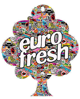 EURO FRESH STICKERBOMB GRAPHIC /STICKER( VW / DRIFT STYLE) X1 - Voodoo Vinyls