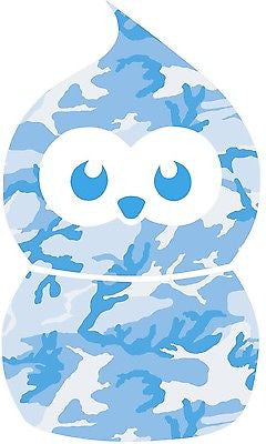 BLUE - ZINGY BLOB CAMO GRAPHIC /STICKER(VW/ STICKERBOMB /DRIFT STYLE/ EDF) X1 - Voodoo Vinyls
