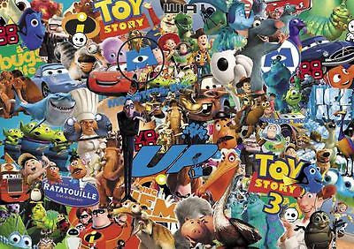 PIXAR CARTOON STICKERBOMB SHEET- (X1-A3 SIZE) FREE P&P! (TOY STORY/KIDS) COLOUR - Voodoo Vinyls