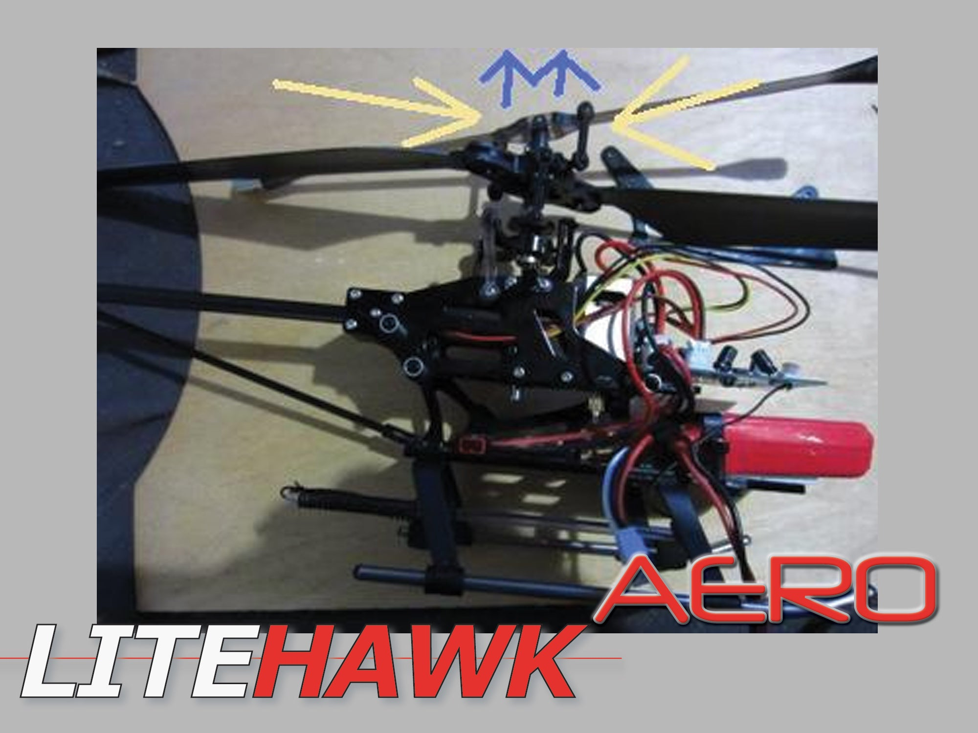 Aero Faq Litehawk Shop Replacement Repair Part Circuit Board For R C Helicopter Radio Control Replacing The Main Gear Start By Removing Canopythen Remove 6 Screws That Secure Outer Chassis Five Indicated In Red
