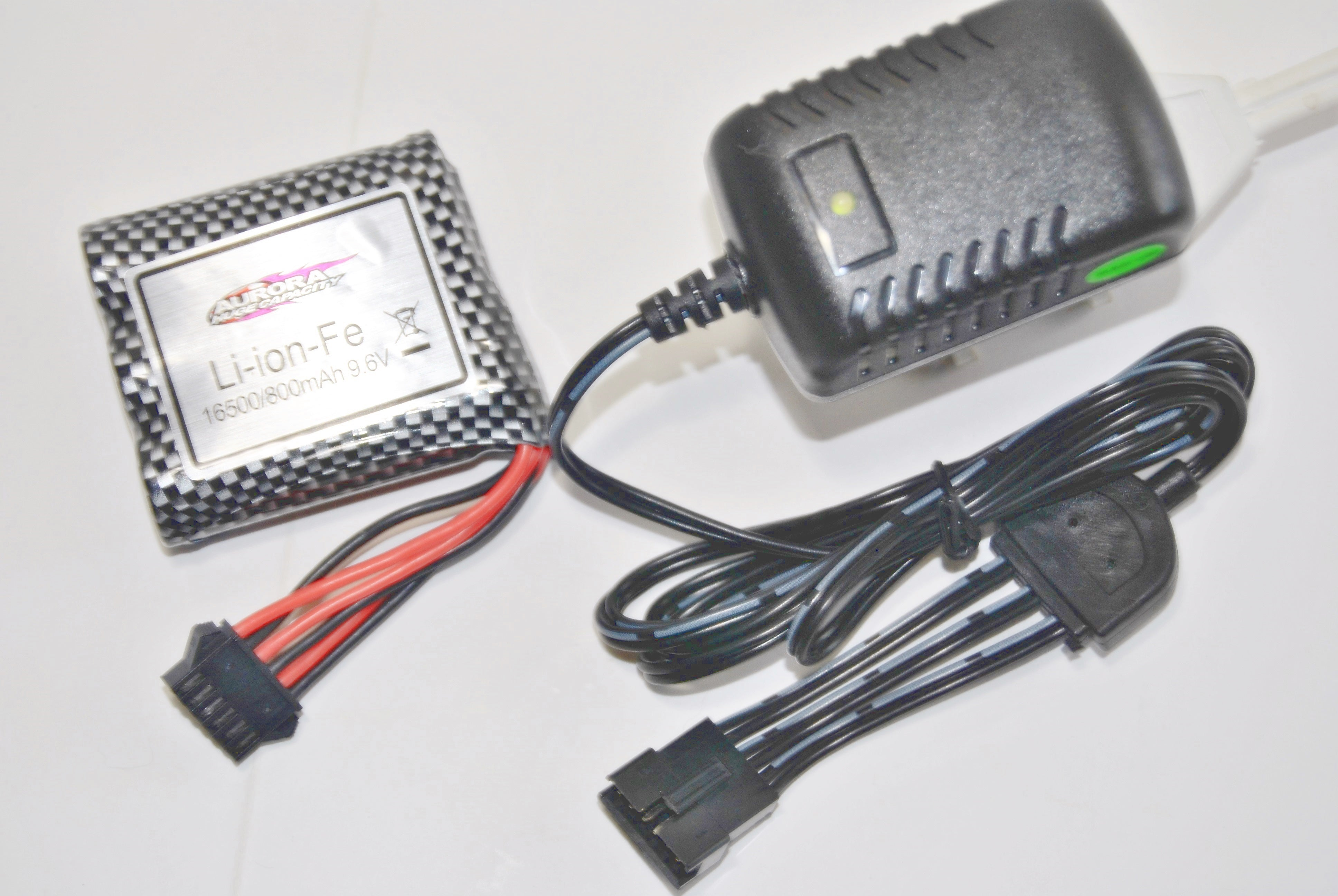 285-428066 C Chassis - Battery Blk Plug 6 Wire ( 9.6V 800mAh ...