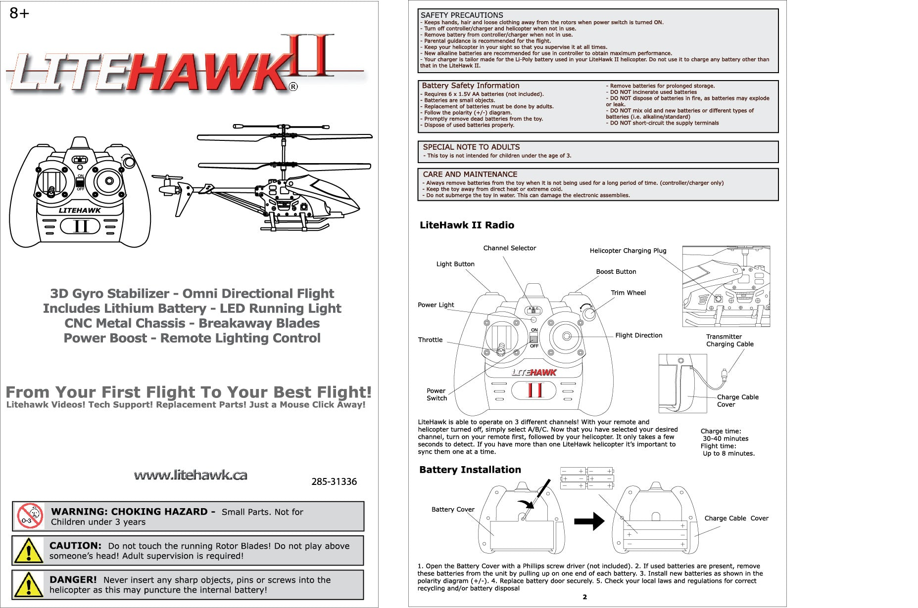 Litehawk 2 Guides Shop Diagram Fpv Wiring Basic Lithium Ion Battery Charger Circuit Ii Instruction Manual