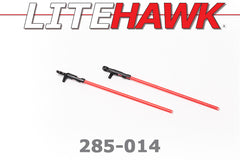 285-014 LiteHawk 3 Tail Support Rods