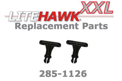 285-1126 XXL 2.4 Ghz - Body Mount Clips