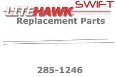 285-1246 SWIFT Pushrods for Elevator /Rudder