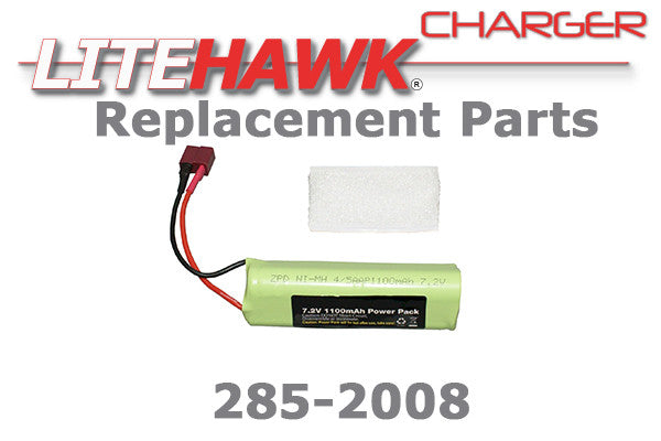 285-2008 CHARGER - 7.2V 1100 mah NiMH Battery
