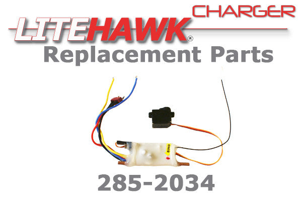 285-2034 CHARGER/CHAMP - 2.4 Ghz Rec/ESC Servo Set