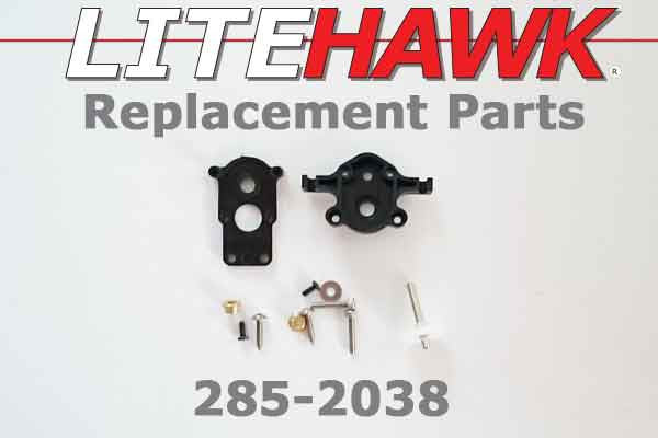 285-2038 CHAMP - Plastic Motor Mount/ Transfer Case