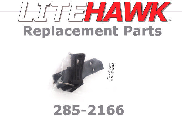 285-2166 CHARGER XL - Rudder and Support Set