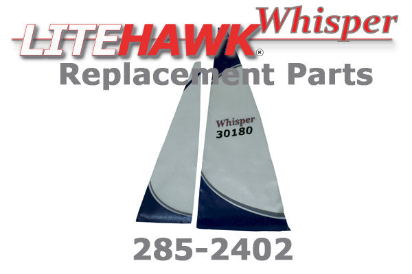 285-2402 WHISPER - Blue Main Sail & Jib Sail