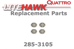285-3105 QUATTRO Rotor Gears (4 pack)