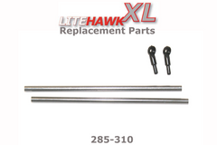 285-310 XL (Silver Chassis) Tail Support Rods