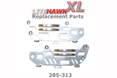 285-313 XL (Silver Chassis) Lower Metal Chassis Set