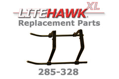 285-328 XL (Silver Chassis) Landing Gear